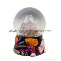 Buy cheap Polyresin Madeira Snowglobe Souvenir Resin Snow Globe from wholesalers