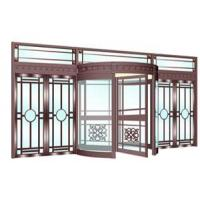 Quality Three wings auto-revolving copper door-SWE series for sale