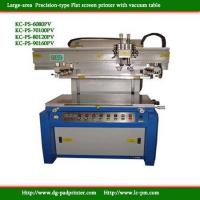 Quality Precision Vacuum table Flat screen printer for sale