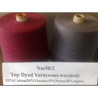Quality Semi-worsted yarn LH-6 for sale