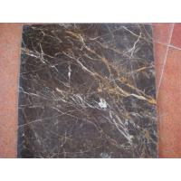 Quality Marble Tile Tiny Brown for sale