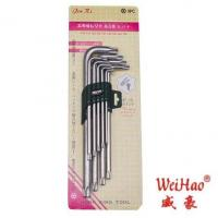 Quality 9Pcs longer matte chrome Plum Wrench for sale