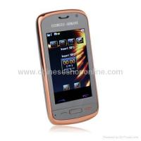 Quality E58 Dual Card Quad Band Dual Camera Ultra Thin Touch Screen Cell Phone for sale