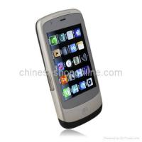 Quality C8 Dual Card Quad Band Cell Phone With WIFI TV JAVA Trackball Touch Screen for sale
