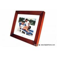 Buy cheap Digital photo frame wooden style from wholesalers