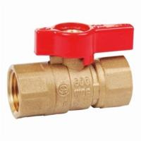 China CSA Approved Brass Gas Ball Valve Female/Male on sale