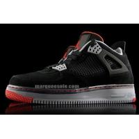 Quality Air Jordan Force Fusion 4 Black Varsity Red Cement Gray for sale