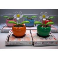 China Flip Flap Solar Flower Solar Plant Swing Flower Solar Toy on sale