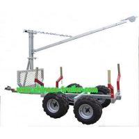 China ATV timber trailer with crane XZ-01 on sale