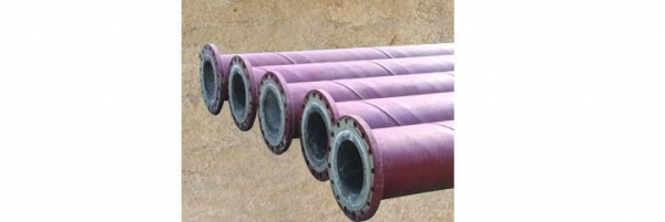 China Product:Cast Basalt Composite Pipe Cast Composite Pipe