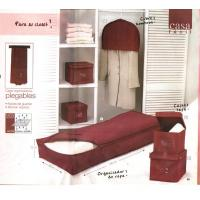Quality Storage & organization burgundy closet collection for sale