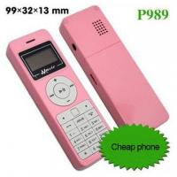Quality Music mobile phone,small cell phone,dual sim cards dual standby mobile phone-P989 for sale