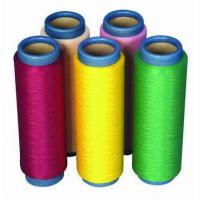 Buy cheap Polyester Dope Dyed yarn from wholesalers