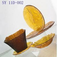 Quality Glass cover packs Tulip seriesamber for sale