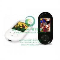 Quality Thin pebble-shaped mini Mp4 Player, 1.8-inch TFT for sale