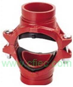 Buy Fire fighting grooved fittings  Cross, Mechanical Grooved at wholesale prices
