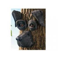 Quality Polyresin Animal Figurines Polyresin Black Lab Tree Face for sale