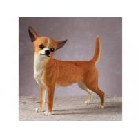 Quality Polyresin Animal Figurines Polyresin Chihuahua Figurine for sale