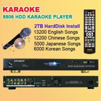 Quality KARAOKE PRODUCTS HD karaoke player + 36000 songs with 2TB Hard Drive installed. for sale