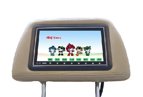China 7inch, 8.5inch, 9inch TFT-LCD taxi headrest advertisements player!