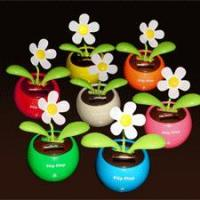 China USB Fan(Mini Fan) Solar flower, flip flap solar flower, on sale