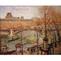 Quality Impressionist(3830) The_Pont_du_Carrousel,_Afternoon for sale