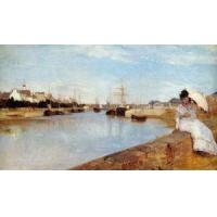 Quality Impressionist(3830) The_Harbor_at_Lorient for sale