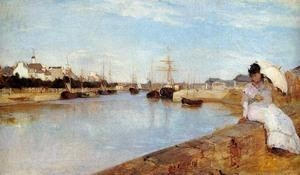 Buy Impressionist(3830) The_Harbor_at_Lorient at wholesale prices