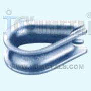 Quality -Thimble G411 U… G411 U.S.Type Standard Wire Rope Thimble,ZP or HDG TH02 for sale