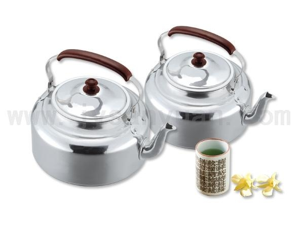 Buy Refined Aluminum Colorful handle refined aluminum kettleITEM NOJBS/HB-112-128 at wholesale prices