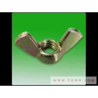 China Bolts and screws cold pier butterfly nut on sale