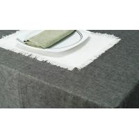 Quality Table Cloth Cotton Hemp Blended Textile for sale