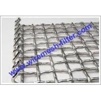 Quality Hookstrip Flat Screen Crimped Wire Mesh Crimped Wire Mesh for sale