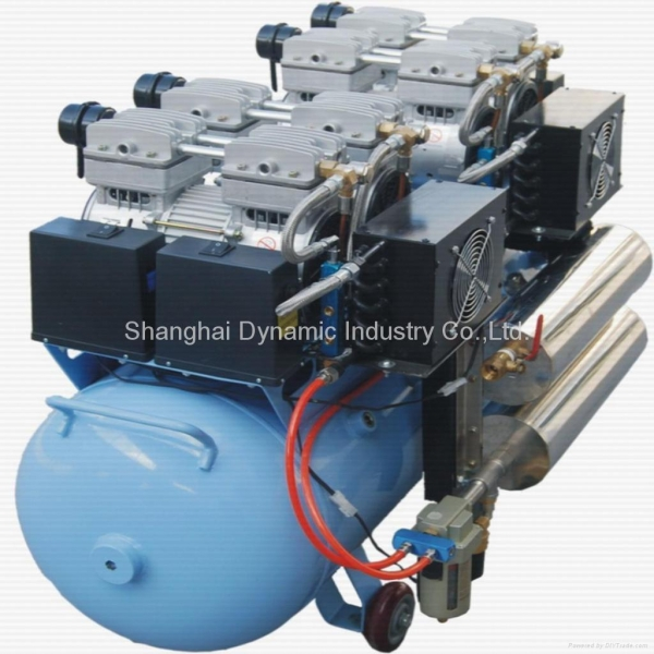 Buy Silent Oilless Air Compressor with Dryer (DA7004D) at wholesale prices