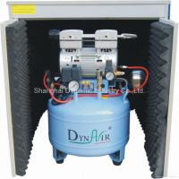 Quality Silent Oilless Air compressor with dryer and silent cabinet(DA7001DC) for sale