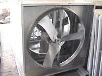 Quality VENTILATION FAN FOR INDUSTRY 44 INCH GALVANIZED STEEL NEGATIVE PRESS FANS for sale