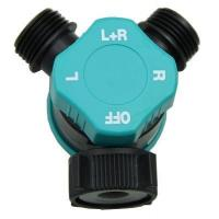 Quality Adaptors & Hose Connectors GD-17526 2-way connector with water on-off for sale