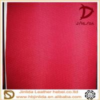 Quality Diamond pattern artificial pvc calendering manufacturer of pvc leather for sale