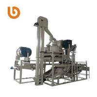 Quality Brand new small hemp seed shelling dehuller Processing machine for sale