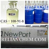Quality Dyestuffs & Pigments Cyclohexylamine CAS :108-91-8 for sale