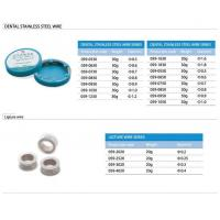 Dental stainless steel wire