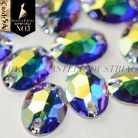 Oval Sew Rhinestons for Clothes