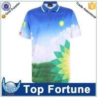 Quality custom sublimation sport blank t shirt for sale