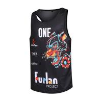 Quality GYM fitness sublimation singlets / GYM fitness singlets for sale