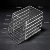 Wholesale 5 layer plastic drawer storage box