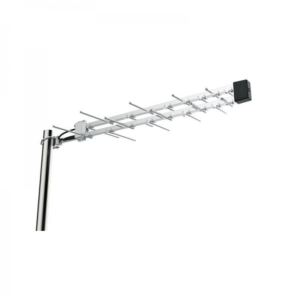 Buy 1 Way Megaboost Amplified Outdoor UHF Log Periodic TV Antenna at wholesale prices
