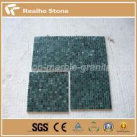Quality Swimming Pool Mosaic Indian Green Marble Mosaics for sale