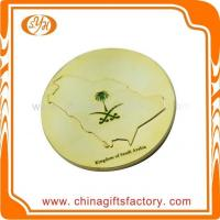 Quality Custom high quality zinc alloy metal shiny gold plated souvenir coin for sale