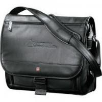 China Executive Leather Compu-Saddle Bag on sale