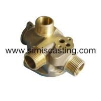 Quality Copper Lost Wax Casting Part - Pipe Fittings for sale